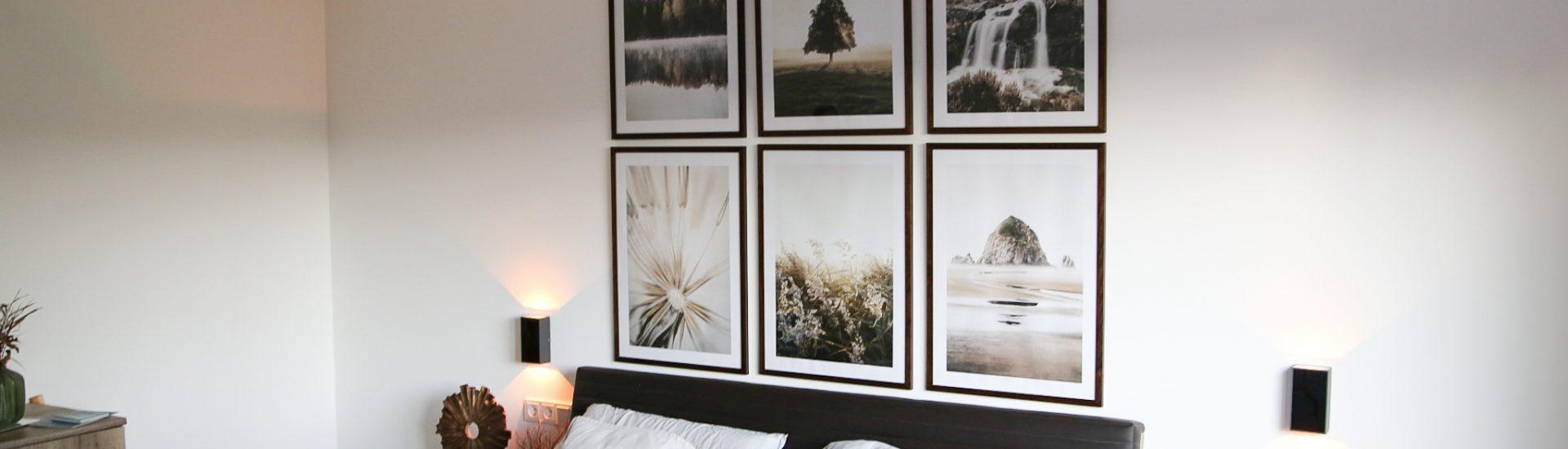 Naturposter in Erdtönen für unser Schlafzimmer - Gewinnspiel mit Poster Store